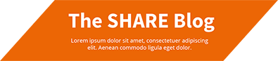 The SHARE Blog Logo